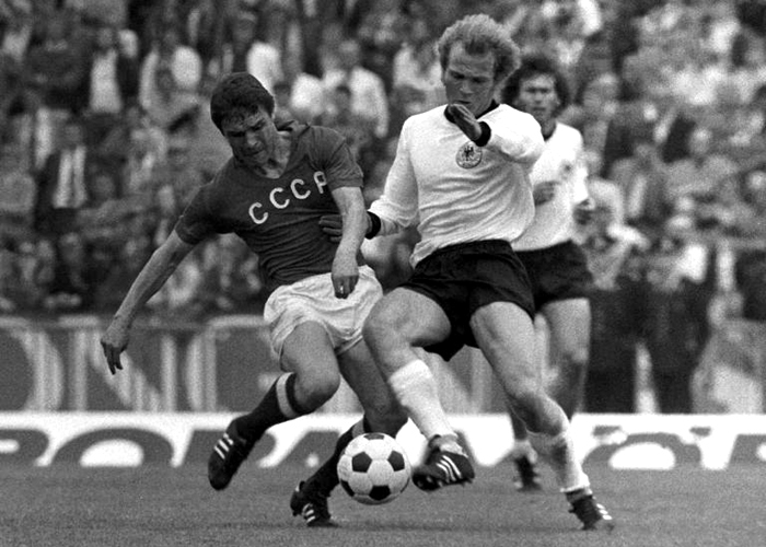 1972: West Germany - Soviet Union 3-0