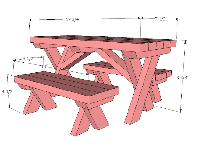 american doll furniture plans