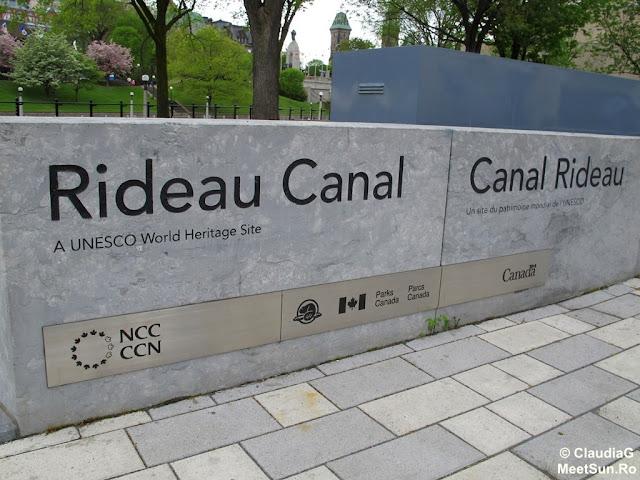 Ottawa. Rideau Canal. UNESCO