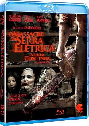 Filme Poster O Massacre da Serra Elétrica: A Lenda Continua BDRip XviD Dual Audio & RMVB Dublado
