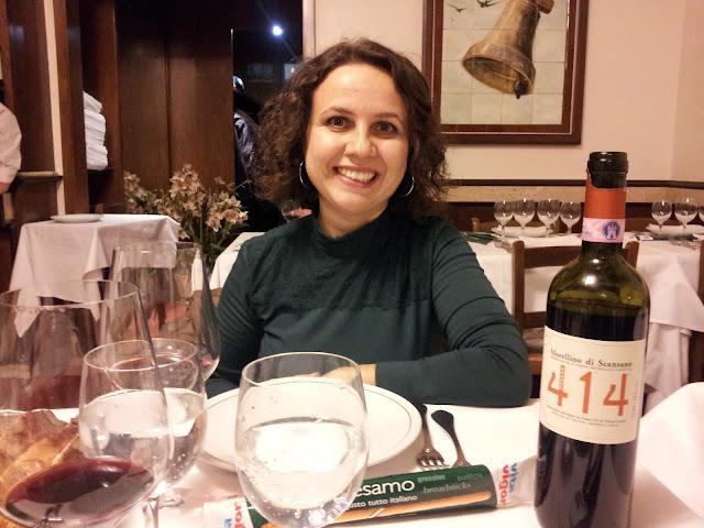 La Campana'da yemek yerken, Roma