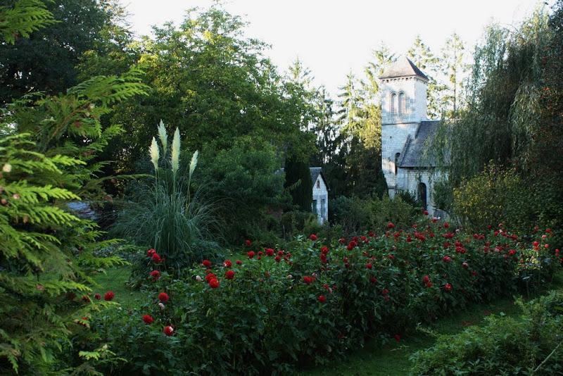 Jardin du Prieuré. dans Normandie