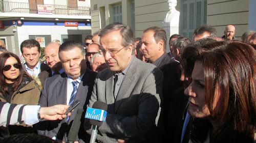"""Η πρόσφατη """"συγνώμη"""" Σαμαράς δεν έπεισε τους ψηφοφόρους της ΝΔ στο Μεσολόγγι..."""