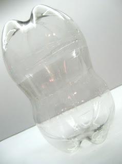 pote de garrafas PET