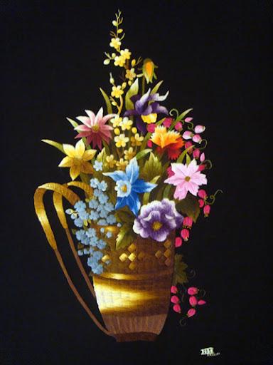 Giỏ Hoa Dại  Kích thước: 50 x 70 cm