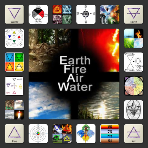 the four elements earth water air fire the four directions Earth Tones Colors Shades share this