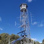 Fire tower on top of Mt Warrawolong (65495)
