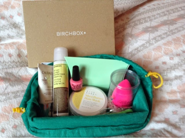 June Birchbox 2014 Review