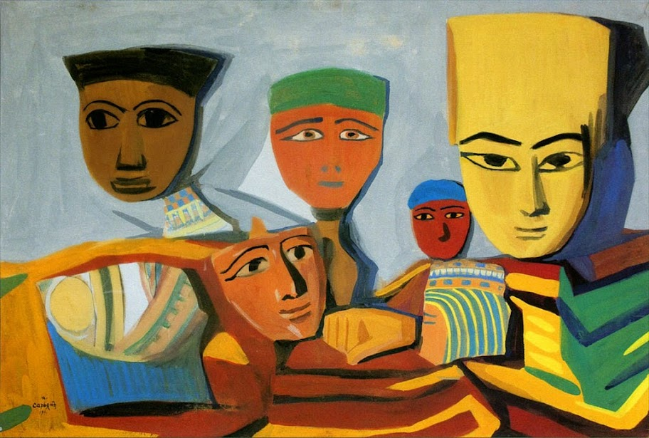 Martiros Saryan - Egyptian Masks
