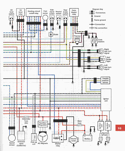 Vstar 1100 Wiring Diagram - Wiring Diagram • on