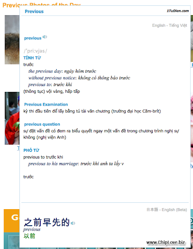 1TuDien addon tra từ cho trình duyệt Firefox - Image 2