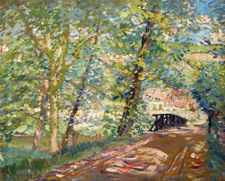 Karl Albert Buehr – The Bridge to the Artist's House