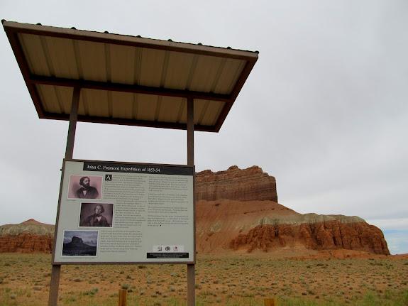 Kiosk at Wild Horse Butte
