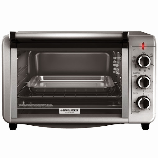 Foodie Gifts: Black & Decker Stainless Steel Convection 6-Slice Toaster Oven