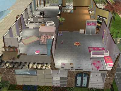 casas mobiliadas para the sims 2