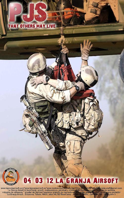 04/03/12 P.J. That others may live - ¡¡Te invitamos a barbacoa!! - La Granja Airsoft PJmarzo