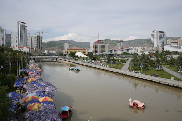 Nanchuan River in Xining, Qinghai