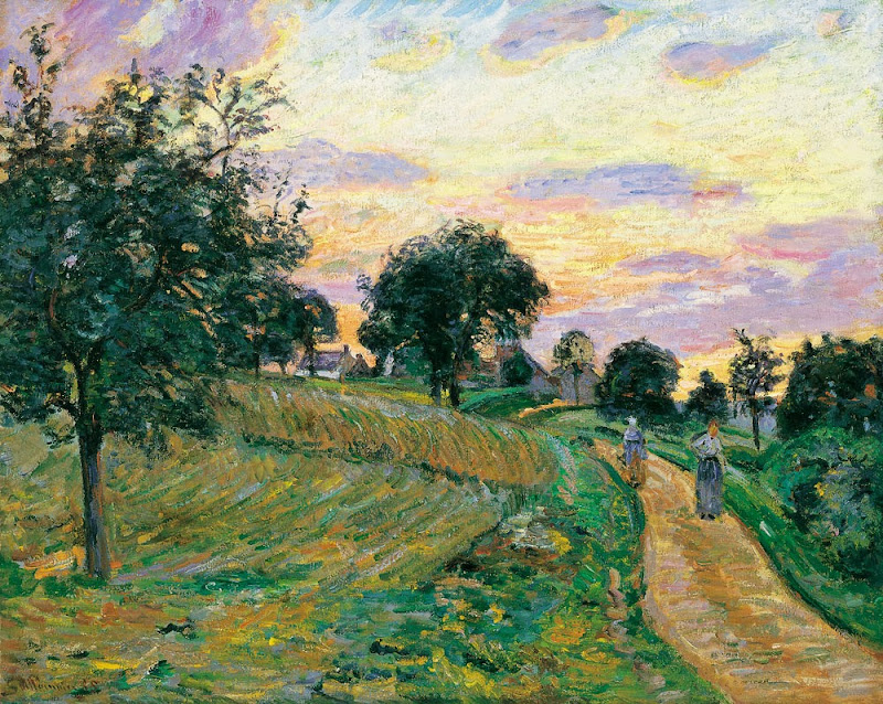 Armand Guillaumin - Road at Damiette,1885