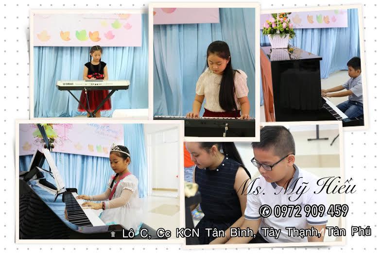 Giáo viên Organ quận Tân Bình, Tân Phú