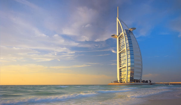 Lifestyle cafe most beautiful buildings in the world Burj al arab architecture