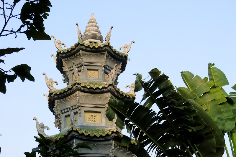 Top of pagoda tower