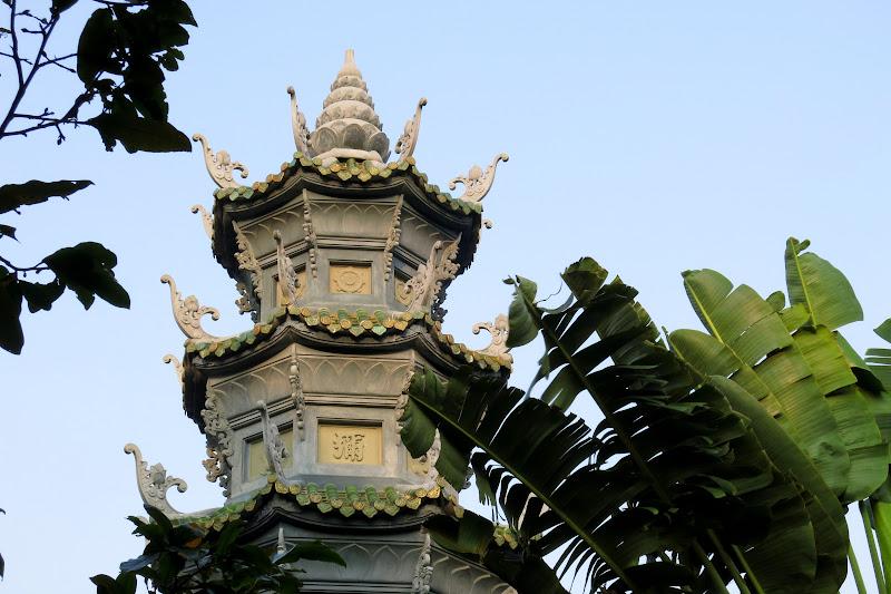 Top of pagoda tower