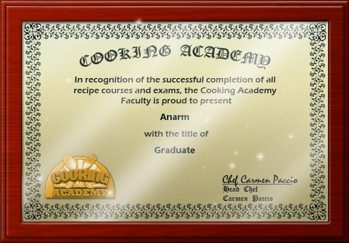 diploma cooking academy