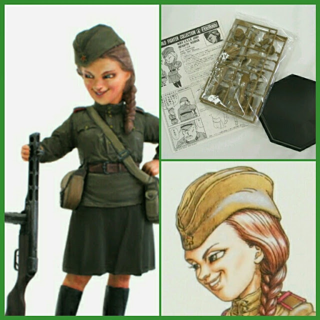 U.S.S.R. Army Infantry Woman maqueta