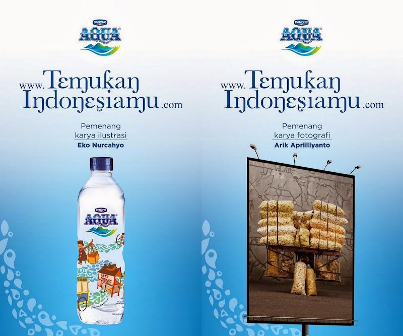 Danone Aqua Temukan Indonesiamu