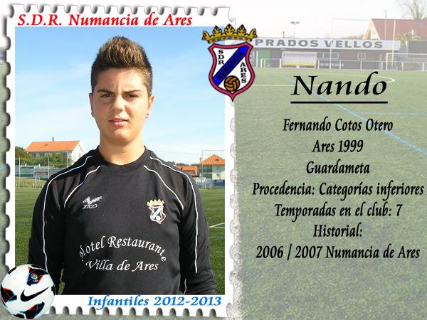 ADR Numancia de Ares. Nando.