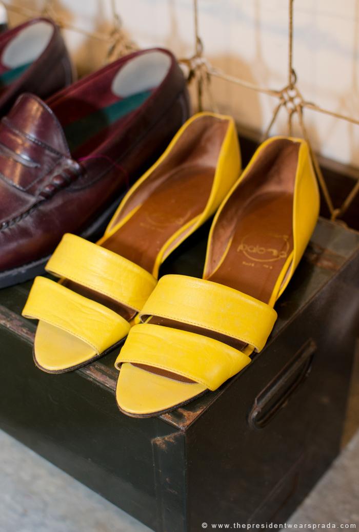 Vintage Flats at Ginger Root Design
