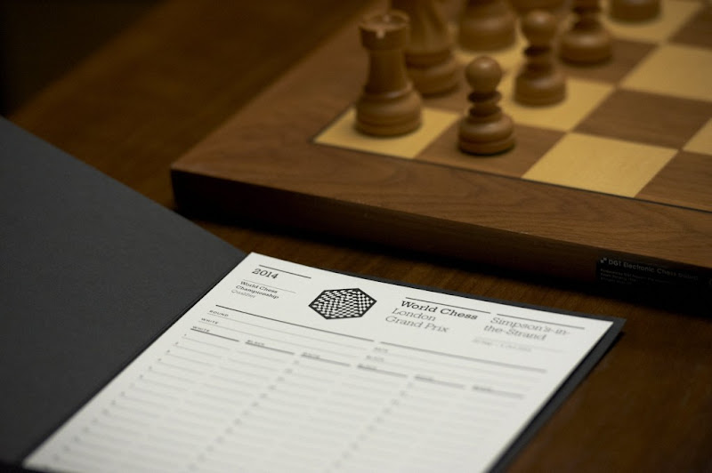 World Chess identity by Pentagram
