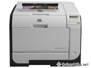 download driver HP LaserJet Pro 400 color Printer M451nw