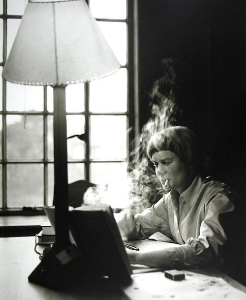 Iris Murdoch by Lord Snowdon, St. Anne's, 1957