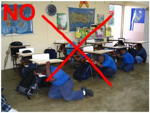 Safe triangle during earthquakes dr ko ko gyi 39 s blog for Where do you go in an earthquake