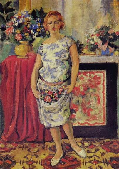 Jean Puy - Femme debout