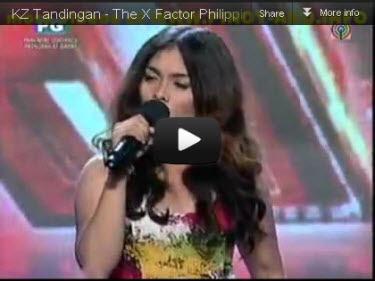 07/17/12 - Pinoy Power - KZ Tandingan of 'The X Factor Philippines' Hits Headlines Kz2