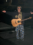 Scotty's ready for soundcheck in his PJ's