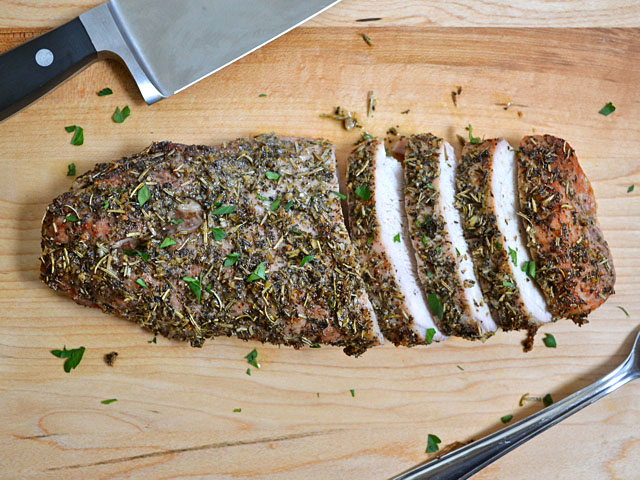 Herb crusted pork tenderloin recipes easy