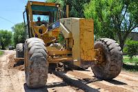 Reparaciones de la red vial y mantenimiento del cementerio local en Cañuelas
