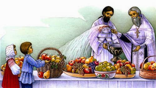 The Blessing Of Fruits On August 6Th