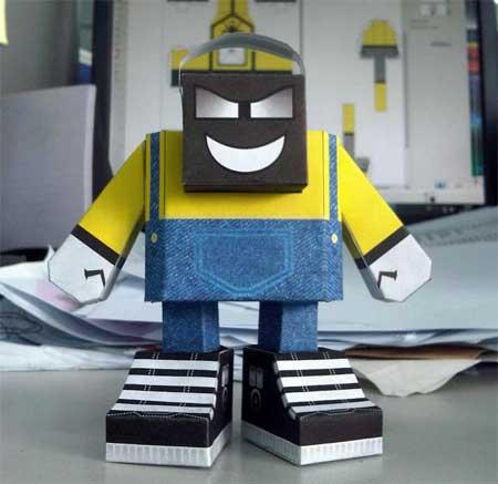 Rythman Paper Toy