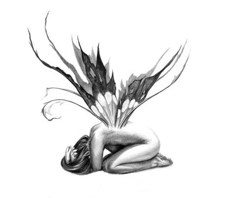 art tattooing: Angel Tattoo | 478 x 403 jpeg 57kB