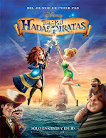 Poster de The Pirate Fairy (Campanilla Hadas y piratas)