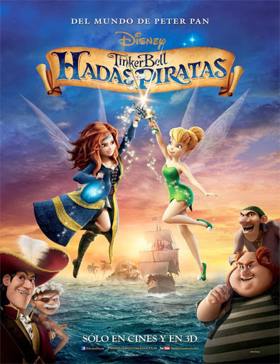 Campanilla Hadas y piratas (The Pirate Fairy) (2014) [Latino]