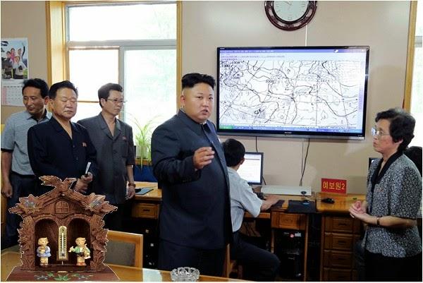 Kim Jong Un weatherhouse meteo