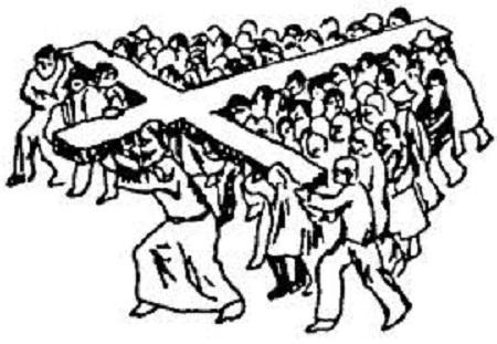 Paaugstinātā Kunga klātesamība un sekošana krustam