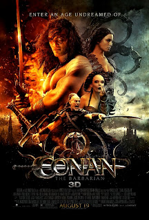 Conan The Barbarian Official Poster