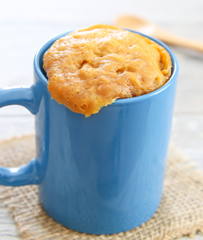 photo of 3 Ingredient Flourless Peanut Butter Mug Cake