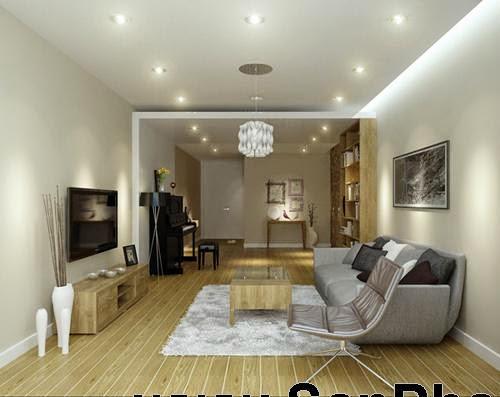 Bài trí nội thất cho chung cư 172 m2-1